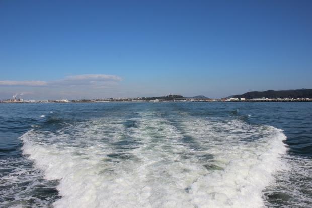 網地島ラインのフェリーからの眺め|猫島(猫の島)で有名な『田代島』を中心に巡る1泊2日石巻離島の旅