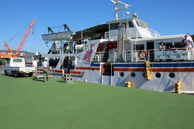 田代島から移動するフェリー|猫島(猫の島)で有名な『田代島』を中心に巡る1泊2日石巻離島の旅