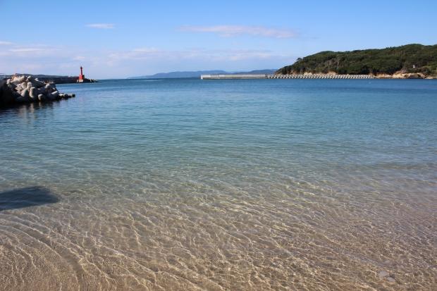 網地島の透き通るような海|猫島(猫の島)で有名な『田代島』を中心に巡る1泊2日石巻離島の旅