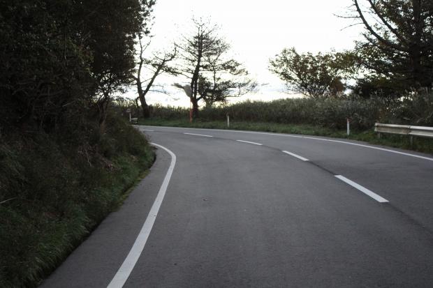 御番所公園へ向かう道|猫島(猫の島)で有名な『田代島』を中心に巡る1泊2日石巻離島の旅