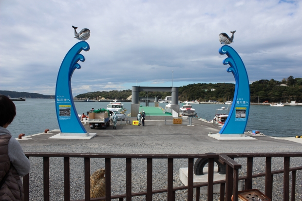 鮎川港の金華山行きフェリー乗り場|猫島(猫の島)で有名な『田代島』を中心に巡る1泊2日石巻離島の旅