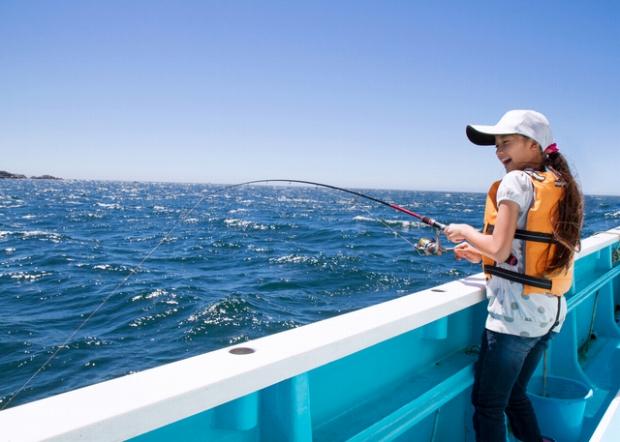 牡鹿半島の楽しみ方その1「釣り」の風景